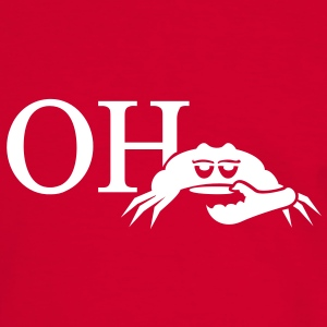 oh crab (1c) Tee shirts - T-shirt contraste Homme