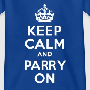 Keep Calm and PARRY ON - Teenage T-shirt