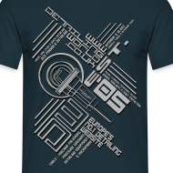 Design ~ Detailing World 'Tech One' Dual Sided T-Shirt