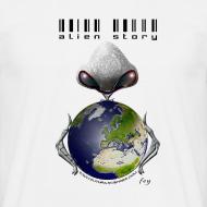 Motif ~ Alien Story - blanc