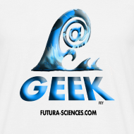 Motif ~ Geek wave blanc-bleu