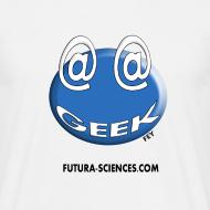 Motif ~ Geek arobase blanc