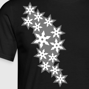ninja_star_design_2c T-shirts - Herre-T-shirt