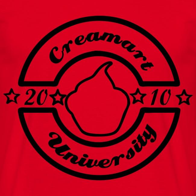 T-shirt Creamart University Homme