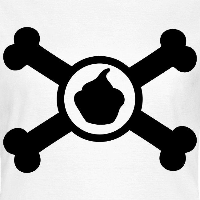 T-shirt Toxic Cupcake Femme