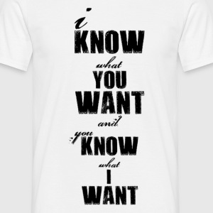 you_know_what_noir Tee shirts - T-shirt Homme