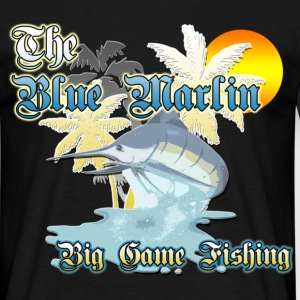 The Blue Marlin. Big game fishing - Männer T-Shirt