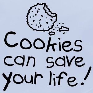 Cookies can save your life Accesorios - Babero ecológico bebé