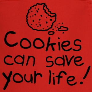 Cookies can save your life Delantales - Delantal de cocina