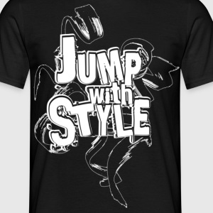 jump with style T-Shirts - T-shirt Homme