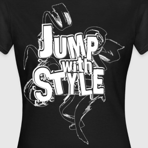 jump with style T-Shirts - T-shirt Femme