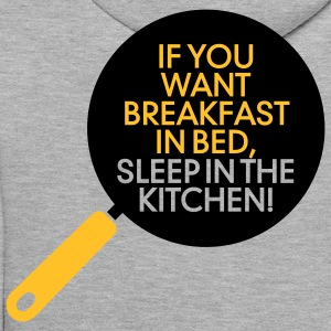 Breakfast In Bed 1 (2c)++ Pullover - Männer Premium Hoodie