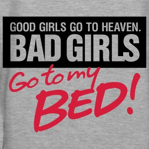 Bad Girls 2 My Bed 2 (2c)++ Sweat-shirts - Sweat-shirt à capuche Premium pour femmes