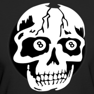 8ball-skull T-Shirts - Frauen Bio-T-Shirt