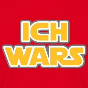 Ich wars | Ich war es T-Shirts - Men's T-Shirt