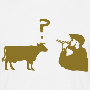 Rap Cow T-Shirts - Men's T-Shirt