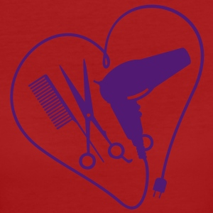 cuore per hairstyling / heart 4 hairstyling (1c) T-shirt - T-shirt ecologica da donna