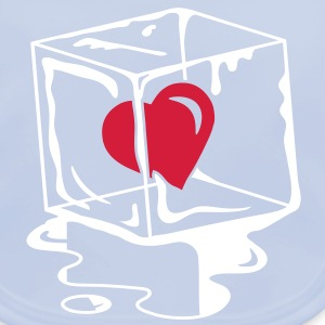 a frozen heart in an ice cube Accessories - Baby Organic Bib