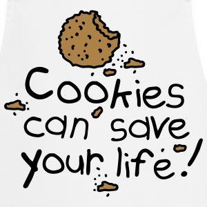 Cookies can save your life Fartuchy - Fartuch kuchenny