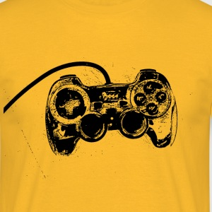 Yellow  T-Shirts - Men's T-Shirt