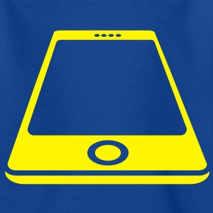 Smartphone White Kids' Shirts - Teenage T-shirt
