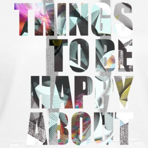 things to be happy about - Sweat-shirt à capuche Premium pour femmes