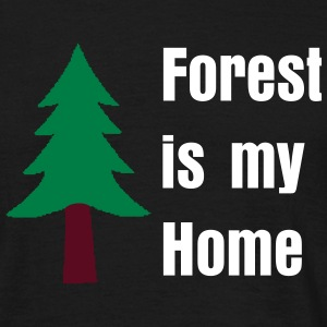 Forest is my Home - T-shirt Homme