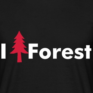 I love Forest - T-shirt Homme