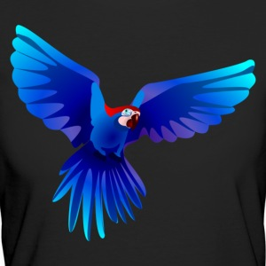 Ara fliegt blau - flying blue Ara T-Shirts - Frauen Bio-T-Shirt