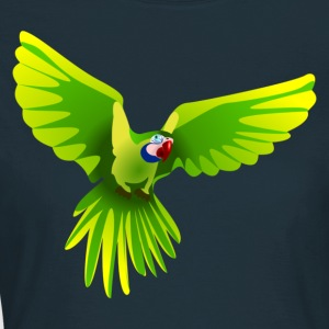 Ara fliegt grün - flying green Ara T-Shirts - Frauen T-Shirt
