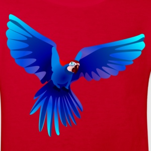 Ara fliegt blau - flying blue Ara Kinder T-Shirts - Kinder Bio-T-Shirt