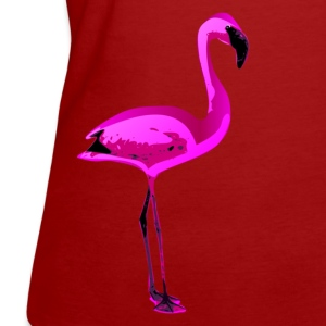 rosa flamingo T-Shirts - Frauen Bio-T-Shirt
