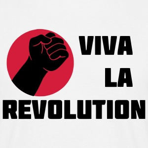 Viva la Revolution thumb T-Shirts - Men's T-Shirt