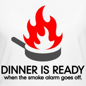 Dinner Is Ready 1 (dd)++ T-Shirts - Frauen Bio-T-Shirt