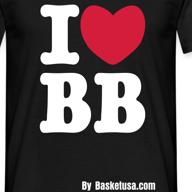 T-Shirt Man I Love BB5