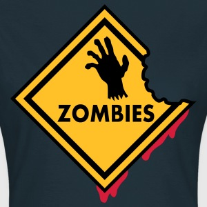 Zombies Sign Bloody T-Shirts - Women's T-Shirt