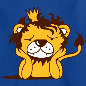 lion with crown Kids' Shirts - Teenage T-shirt