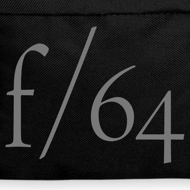 Sac à dos f/64 gris/noir