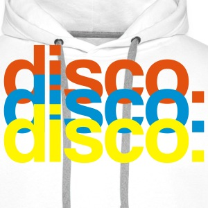 Disco - Party - Fun Pullover - Männer Premium Hoodie