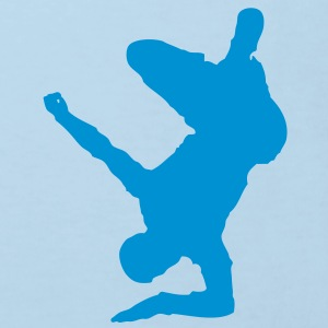 Breakdancer (on elbow) (Vector) - Kids' Organic T-shirt