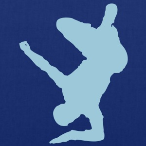 Breakdancer (on elbow) (Vector) - Stoffbeutel