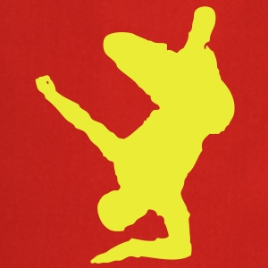 Breakdancer (on elbow) (Vector) - Cooking Apron