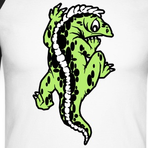 echse reptil Tee shirts manches longues - T-shirt baseball manches longues Homme