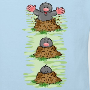 Happy Mole Kinder shirts - Kinderen Bio-T-shirt