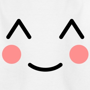 Blush Smiley Kids' Shirts - Teenage T-shirt