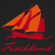 Motiv ~ Zeesboot mit Schriftzug »Fischland«