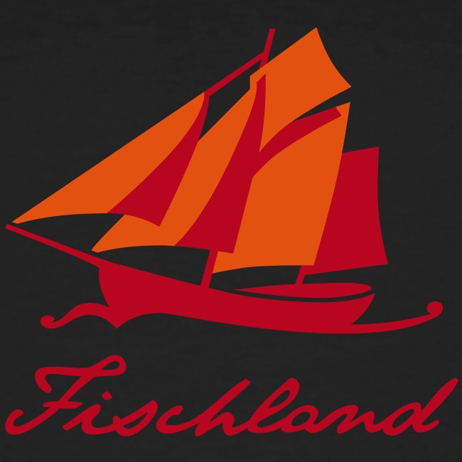 Zeesboot mit Schriftzug »Fischland«