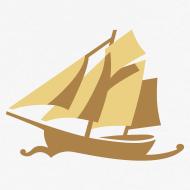 Motiv ~ Zeesboot, dezent