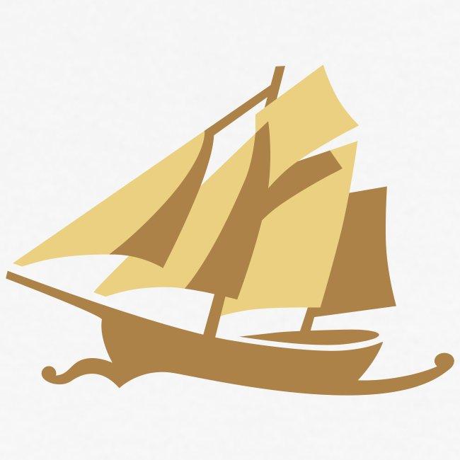 Zeesboot, dezent