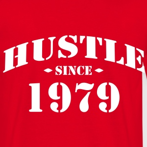 hustle since 1979 - Männer T-Shirt